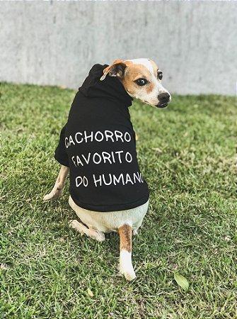 Moletom Pet Cachorro Favorito - Collab Voalaika + T-Mutts