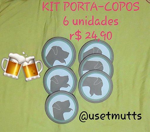Kit Porta-Copos T-Mutts