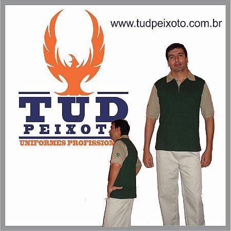 Camisa Polo em Malha Piquet