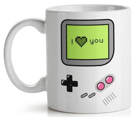 Caneca Game Boy I Love You