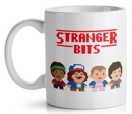 Caneca Stranger Things Bits