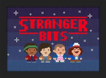 Quadro A4 Stranger Things Bits