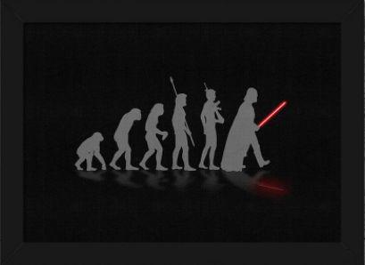 Quadro A4 Geek Evolution