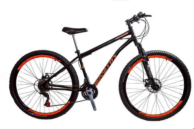 Bicicleta aro 29 new bike 21 marchas com suspensão - Lançamento.