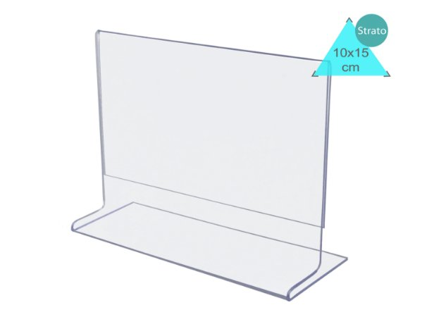 Display ou Porta Folha T A6 (10x15cm) Horizontal