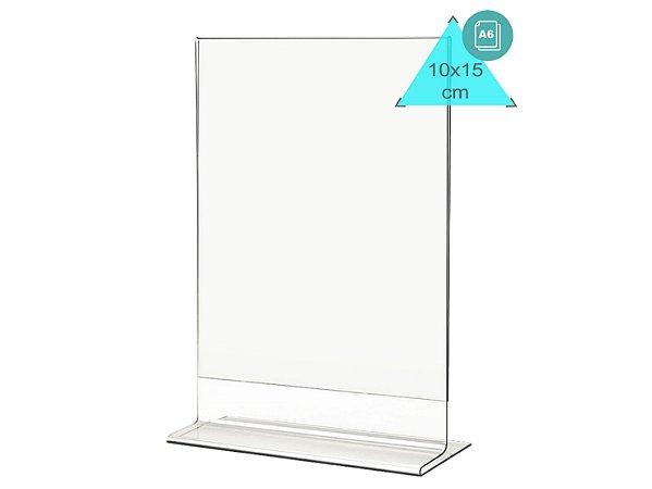 Display ou Porta Folha T A6 (10x15cm) Vertical