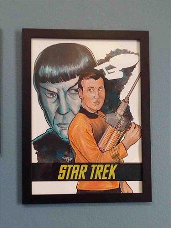 Print _ Kirk e Spock