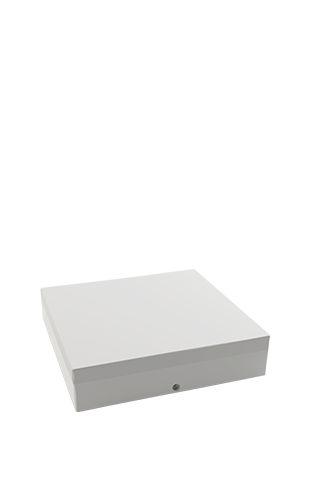 FLC - Luminária Led Sobrepor Quadrada - 15W - 2700K - 1200Lm - Ip 44 - 220 x 200 x 60mm