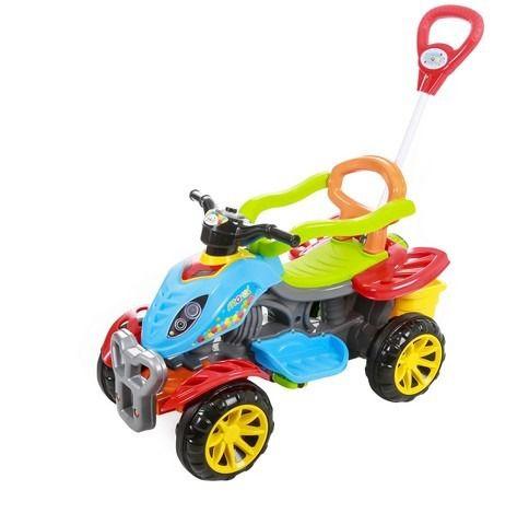 Quadriciclo Color Passeio Ou Pedal Maral