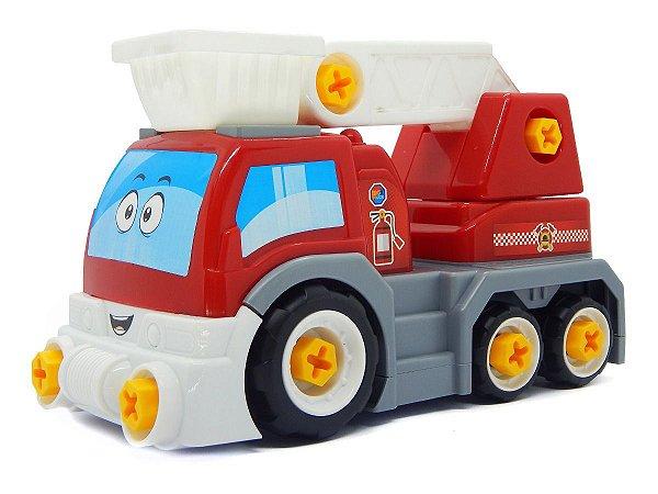 Carrinho Big X Truck Vermelho Desmonta Promoção ::só Hoje::