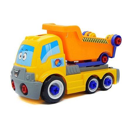 Carrinho Big X Truck Amarelo Desmonta Promoção ::só Hoje::