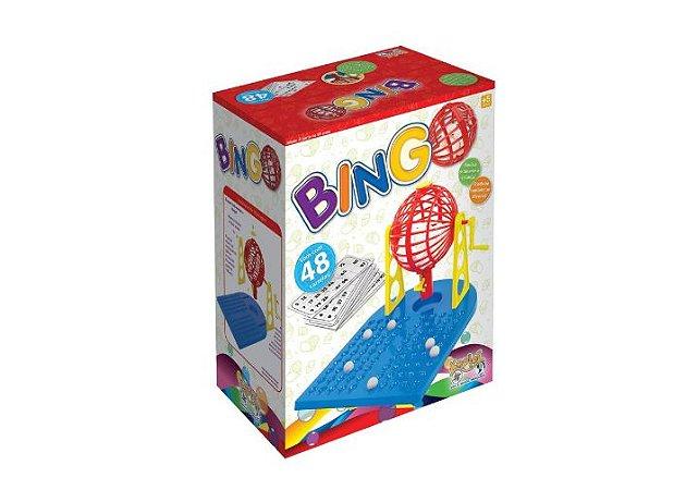Jogo Bingo Com Roleta E 48 Cartelas Kepler