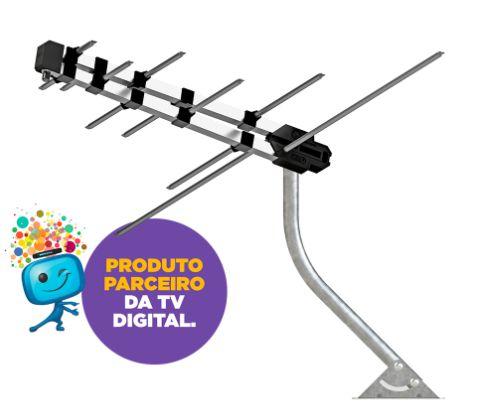 Kit Antena Externa Seja Digital PROEletronic - PROHD-3630/01
