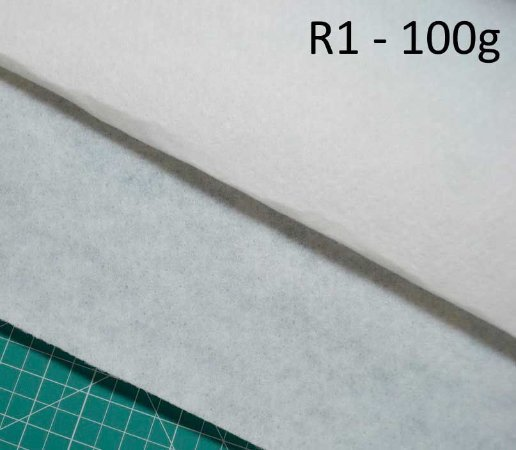 Manta Acrilica R1 Gr 100 Poly Colante 50 X 150cm