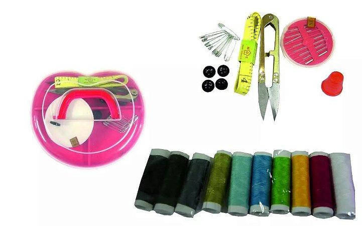 Maleta De Coração Kit De Acessórios Para Costura Manual