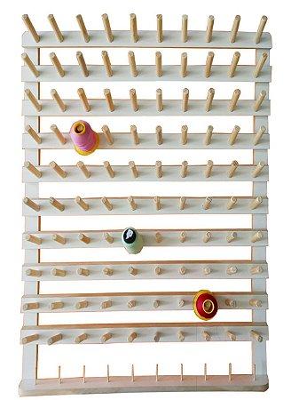 Porta fio de 100 Cones Com Suporte Para Bobinas E Pequenos Carreteis De Linha