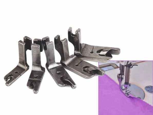 Calcadores de Barra/Bainha de lenço para Reta Industrial