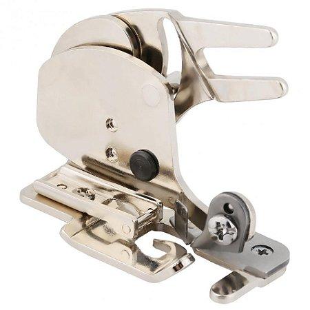 Calcador de Fazer Overlock com Sistema de Corte e Engate Rápido