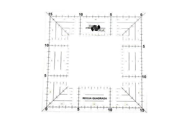 Régua Quadrada para Patchwork 15x15