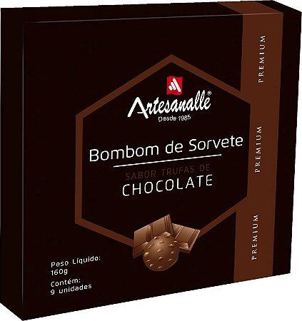 Bombom de Sorvete sabor Trufas de Chocolate