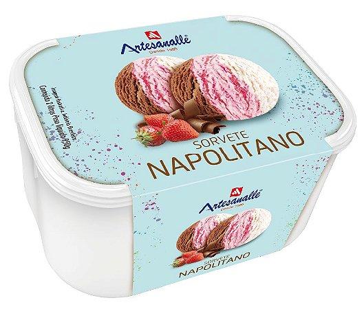 Sorvete Napolitano