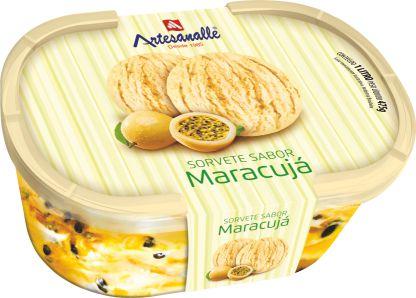 Sorvete sabor Maracujá