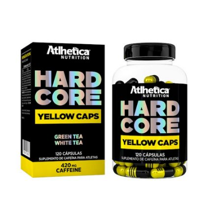 HARDCORE YELLOW CAPS 120 CAPSULAS - ATLHETICA