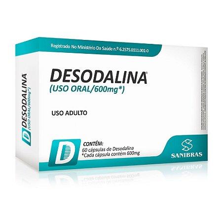 DESODALINA 60 CÁPSULAS - SANIBRAS