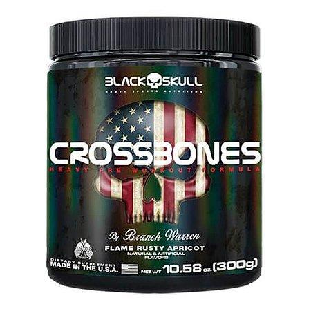 CROSSBONES BLACK SKULL - 300g