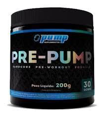 PRE-PUMP  PUMP SUPLEMENTOS - 200g