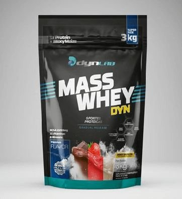 MASS WHEY DYNAMIC LAB - 3kg