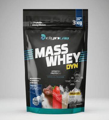 MASS WHEY DYNAMIC LAB - 3kg