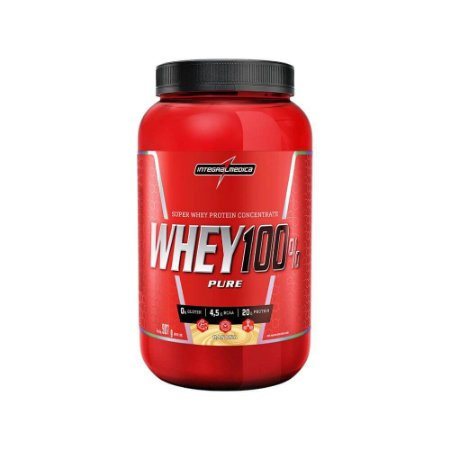 WHEY 100% PURE INTEGRALMEDICA - 907g