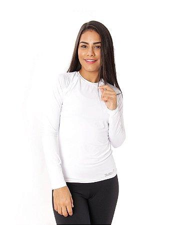 Camisa UV Ocean Feminina Branca