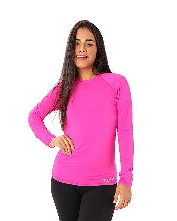 Camisa UV Ocean Feminina Rosa Pink