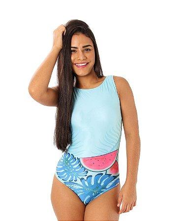 Maiô Ocean Classic Estampada/Azul