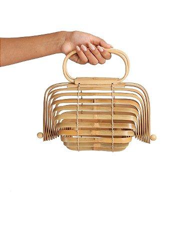 Bag De Mão Oval Artisan