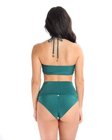 Hot Pants Meio Fio Verde Musgo