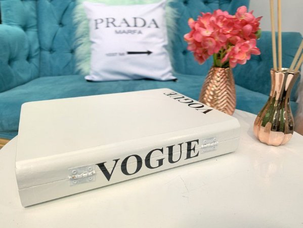 Livro Decorativo Vogue
