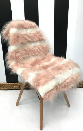 Pelúcia para Cadeira Bicolor