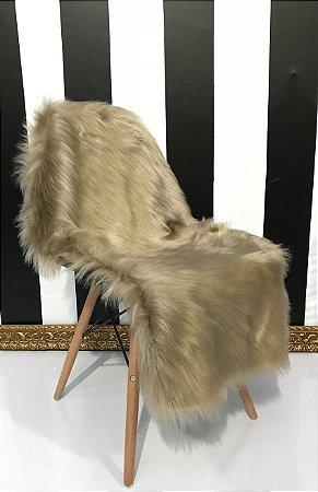 Pelúcia para Cadeira Dourada