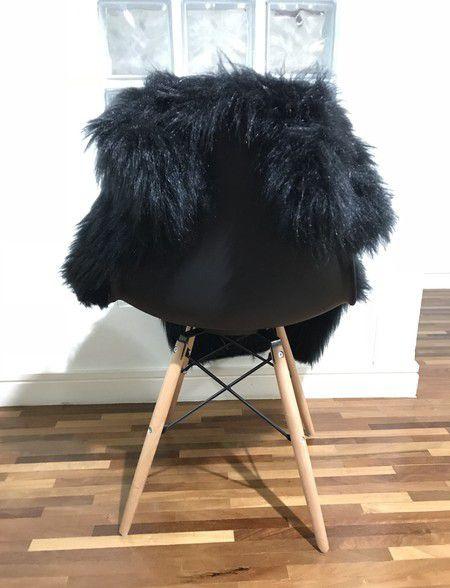 Pelúcia para Cadeira Preto