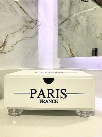 Gaveta Paris Branca com pé de Acrílico