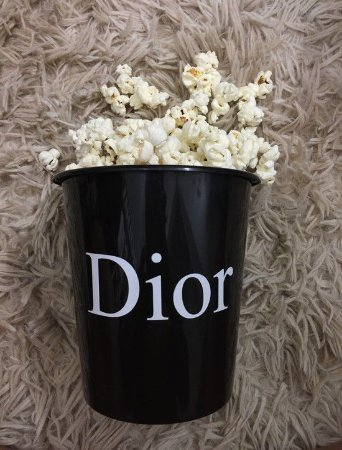 Popcorn Dior -2  unidades
