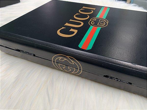 Livro Decorativo Inspire Gucci Preto