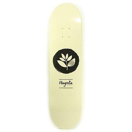 Shape Magenta Skateboards Team Beige Logo 8