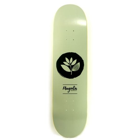 Shape Magenta Skateboards Team Olive Green Logo 8.25