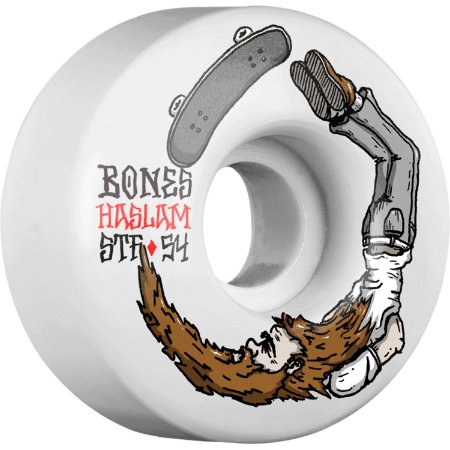 Rodas Bones Wheels Chris Haslam Pro STF V1 Scorpion - 83b 54mm