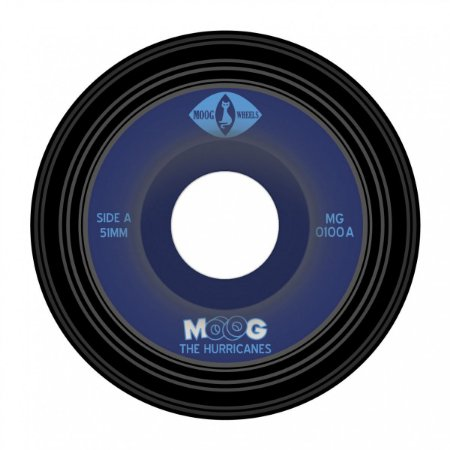 Roda Moog Dual Core Records 100a 51mm