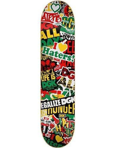 Shape DGK Haters Collage Rasta 8.0